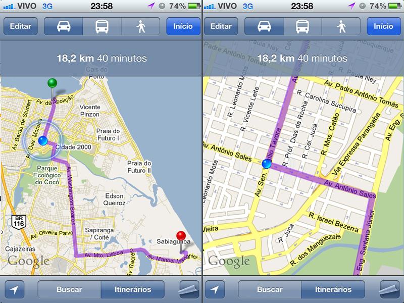 Maps - Centro de Fortaleza