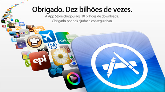 App Store - 10 Bilhões