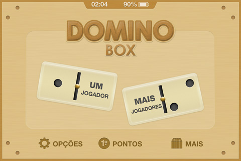 Domino Box - Tela Inicial