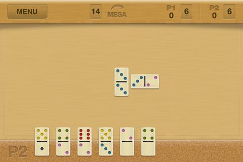 Domino Box - Exemplo de jogada