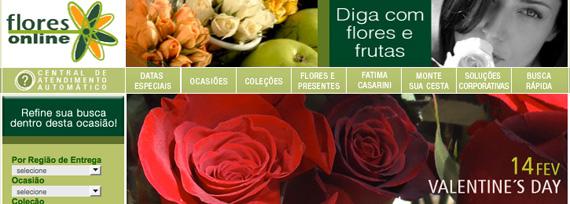 Valentine's Day - Flores Online