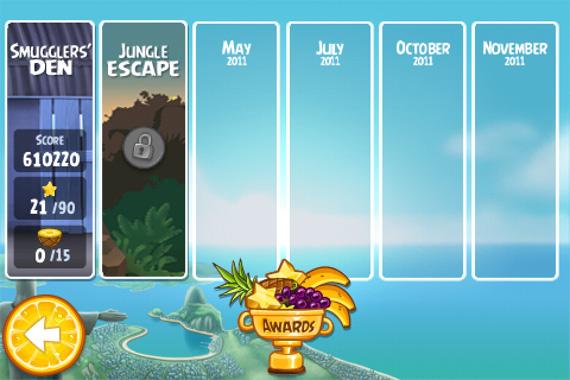 Angry Birds Rio - iPhone - Futuras atualizações...