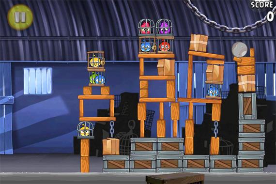 Angry Birds Rio - iPhone - Gráficos melhorados